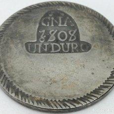 Moedas de Espanha: RÉPLICA MONEDA 1808. 1 DURO. REY FERNANDO VII. GERONA, ESPAÑA. GUERRA DE LA INDEPENDENCIA ESPAÑOLA.. Lote 211507489