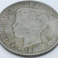 Monedas de España: RÉPLICA MONEDA 1897. ISLAS FILIPINAS, ESPAÑA. 1 PESO. ESPAÑA. REY ALFONSO XIII. Lote 211604331