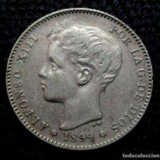 Monedas de España: 1 PESETA 1899 *18*-*--* ALFONSO XIII (3 FOTOS) -PLATA-. Lote 211678334