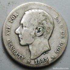 Monedas de España: 1 PESETA 1885 MS-M ESTRELLAS *-- *85 VER FOTOS ORIGINAL PLATA. ¡¡¡¡LIQUIDACION COLECCION!!!!!. Lote 211762936