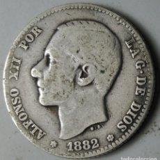 Monedas de España: 1 PESETA 1882 MS-M ESTRELLAS *-- *82 VER FOTOS ORIGINAL PLATA. ¡¡¡¡LIQUIDACION COLECCION!!!!!. Lote 211764050