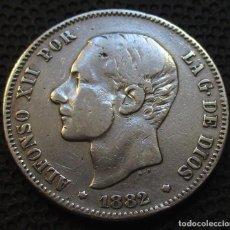 Monedas de España: 2 PESETAS 1882 ALFONSO XII REF.3 -PLATA-. Lote 211890838