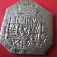 Monedas de España: FELIPE V. 8 REALES DE PLATA MACUQUINA. 1706 MADRID. RARISIMA ·# SG.. Lote 212330743