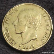 Monedas de España: 2 PESETAS ALFONSO XII 1882 *18*82 MSM (PLATA). Lote 211961616