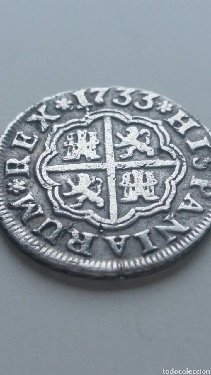 FELIPE V MONEDA DE 1 REAL PLATA (Numismática - España Modernas y Contemporáneas - De Reyes Católicos (1.474) a Fernando VII (1.833))