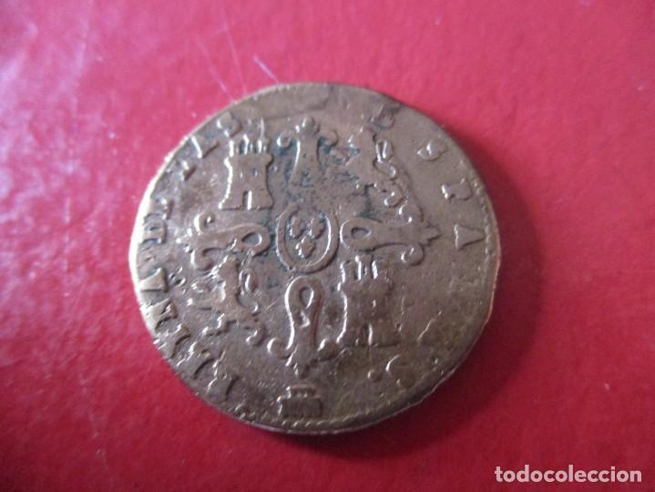 Monedas de España: Isabel II. 4 maravedies. Segovia 1841 - Foto 2 - 213003480
