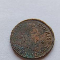Monedas de España: DIFÍCIL 4 MARAVEDÍES 1818 FERNANDO VII. B6. Lote 213221812