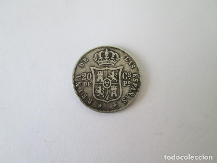 Monedas de España: ISABEL II * 20 CENTAVOS DE PESO 1868 * FILIPINAS * PLATA - Foto 2 - 213467056