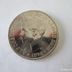 Monedas de España: ALFONSO XIII * 5 PESETAS 1898*98 SG V * PLATA. Lote 213546752