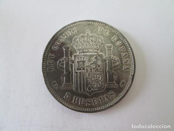 Monedas de España: ALFONSO XIII * 5 PESETAS 1888*88 MP M * PLATA - Foto 2 - 213547825