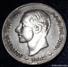 Monedas de España: 2 PESETAS ALFONSO XII 1882 MSM (PLATA). Lote 213587702