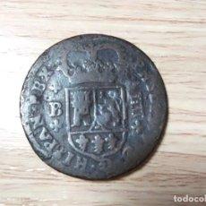 Monedas de España: 4 MARAVEDÍS FELIPE V - BARCELONA, 1720. Lote 214057498
