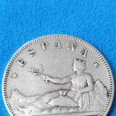 Monedas de España: ESPAÑA 2 PESETAS, 1870 18 Y 75 DENTRO DE LA ESTRELLA MBC+ PLATA REF 3022. Lote 214475951