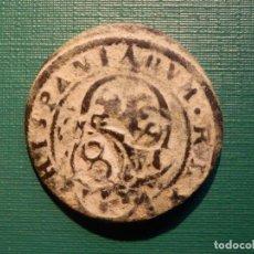 Monedas de España: MONEDA - SPANISH ANCIENT COIN - FELIPE III - SEGOVIA - RESELLO 1652 - 30 MM - BRONCE 8 MARAVEDI. Lote 214482463