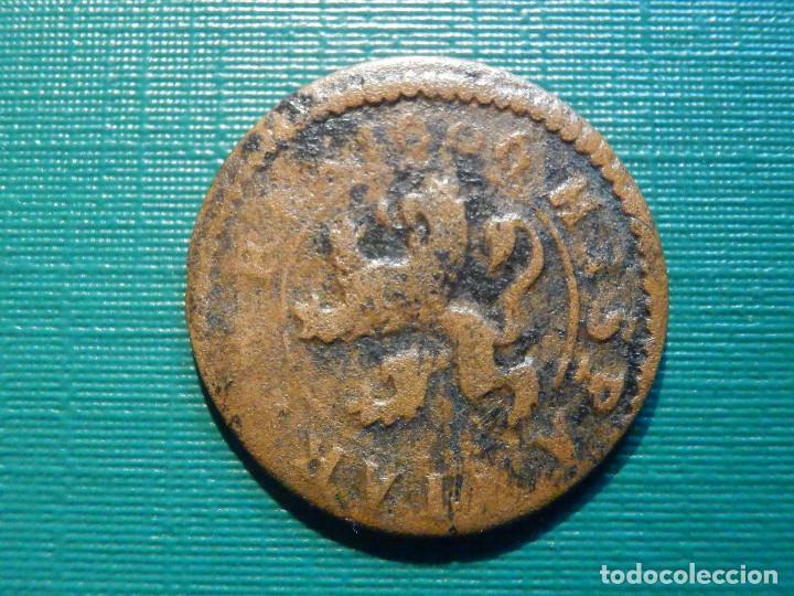 Monedas de España: Moneda - Spanish Ancient Coin - Felipe III - Segovia - Año 1606 - 18 mm - 4 Maravedi - Foto 2 - 265650364