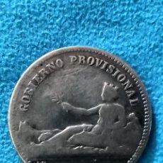 Monedas de España: ESPAÑA 1 PESETA, 1869 GOBIERNO PROVISIONAL RFE 3243 SILVER. Lote 214559318