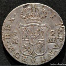 Monedas de España: 2 REALES 1789 MADRID CARLOS IV PLATA ESPAÑA. Lote 280870213
