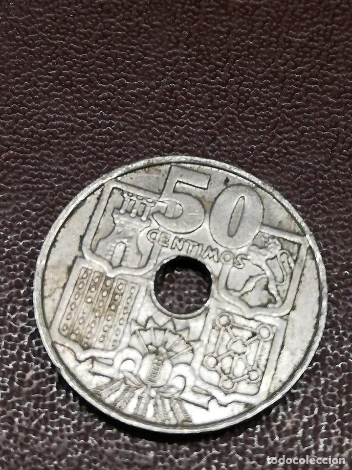 Monedas de España: 9 monedas pesetas españolas históricas desde 1870 a 1953 - Foto 5 - 214849310
