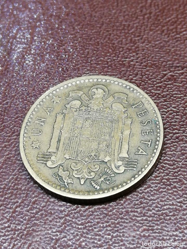Monedas de España: 9 monedas pesetas españolas históricas desde 1879 a 1966 - Foto 14 - 214850676
