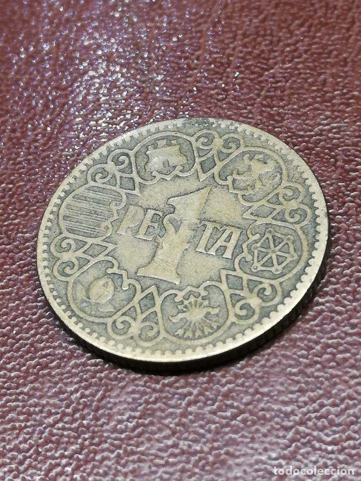 Monedas de España: 9 monedas pesetas españolas históricas desde 1879 a 1966 - Foto 16 - 214850676