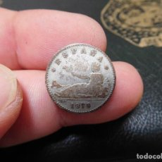 Monedas de España: ESPAÑA 50 CENTIMOS AÑO 1870 PLATA. Lote 214927811