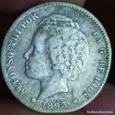 Monedas de España: 1 PESETA 1893. Lote 214939912
