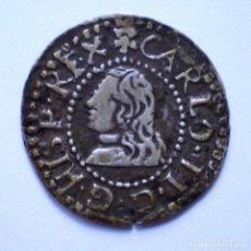 Monedas de España: CARLOS II CROAT BARCELONA 1675. Lote 215072801