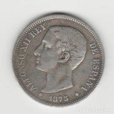 Monedas de España: ALFONSO XII- 5 PESETAS- 1875-DEM. Lote 215088460