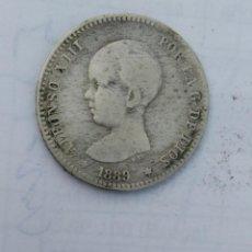 Monedas de España: ESPAÑA 1 PESETA 1889 ESTRELLAS *-- *-- PLATA. ¡¡¡¡LIQUIDACION COLECCION!!!!!. Lote 215497562