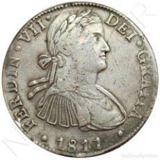 Monedas de España: ESPAÑA 8 REALES PLATA 1811 H.J CECA DE MEXICO REY FERNANDO VII SILVER HISPAN. Lote 215877607