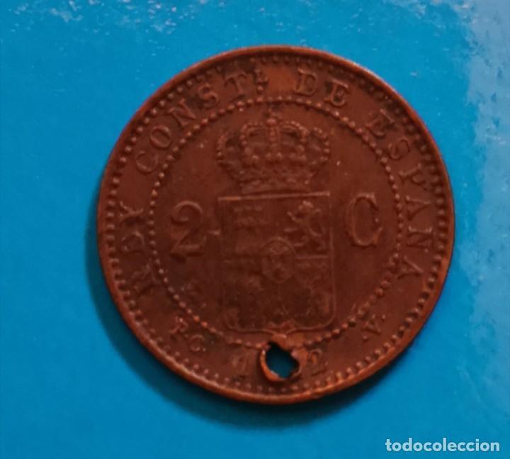 Monedas de España: 2 centimos alfonso xiii 1912 - Foto 2 - 216497447