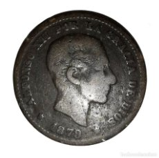Monedas de España: MONEDA DE 5 CENTIMOS.ALFONSO XII-AÑO 1879. Lote 216513843