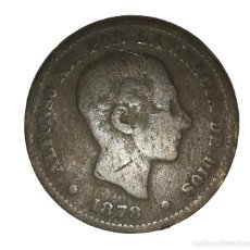 Monete da Spagna: MONEDA DE 5 CENTIMOS.ALFONSO XII-AÑO 1878. Lote 216513973