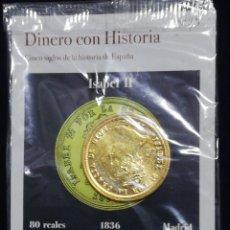Monete da Spagna: MONEDA ISABEL II 80 REALES 1836 MADRID. Lote 216738715