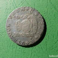 Monedas de España: 8R CARLOS III MEXICO 1760 MM. Lote 216770197