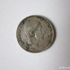 Monedas de España: CINCUENTA CENTAVOS DE PESO DE ALFONSO XII. FILIPINAS. 1883. PLATA.. Lote 217000558