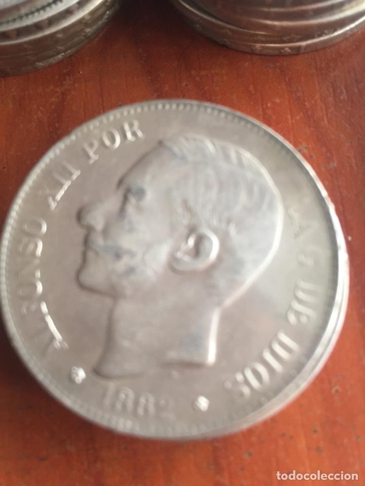 Monedas de España: Monedas 5 pesetas - Foto 7 - 217460010