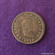 Monedas de España: 8 MARAVEDIES DE FERNANDO VII. JUBIA. 1819. BONITO COBRE. ORIGINAL. MUY BIEN CONSERVADA.. Lote 217519427