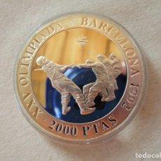 Monedas de España: SOGATIRA . 2000 PESETAS DE PLATA . BARCELONA 92 . ESTUCHES Y CERTIFICADO . PERFECTA. Lote 217671901