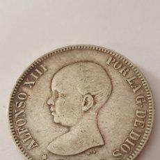 Monedas de España: 5 PESETAS ALFONSO XIII POR LA GRACIA DE DIOS 1892 (*-90). Lote 253632560