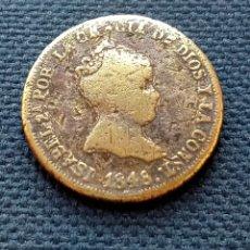 Monedas de España: 4 REALES 1848 FALSA DE ÉPOCA. Lote 217695611