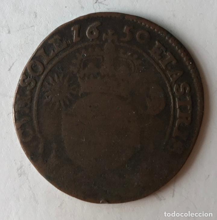 Monedas de España: Moneda conmemorativa o jetón de Felipe IV, Bruselas, 1659 - Foto 2 - 217737622
