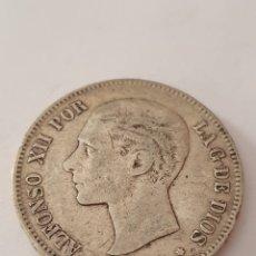 Monedas de España: 5 PESETAS DE ALFONSO XII 1881 (*-81). Lote 217806525