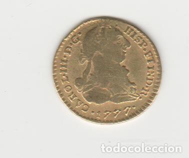CARLOS III- 1 ESCUDO- 1777- POPAYAN- SF (Numismática - España Modernas y Contemporáneas - De Reyes Católicos (1.474) a Fernando VII (1.833))