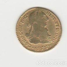Monedas de España: CARLOS III- 1 ESCUDO- 1777- POPAYAN- SF. Lote 217838075