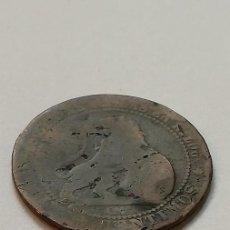 Monedas de España: MONEDA 5 CENTIMOS 1870. Lote 218437181