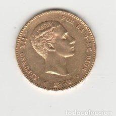 Monedas de España: ALFONSO XII- 25 PESETAS- 1880*18-80-MSM-SC-. Lote 218677295