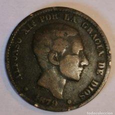 Monedas de España: MONEDA DE 10 CENTIMOS ALFONSO XII-1879. Lote 219103490
