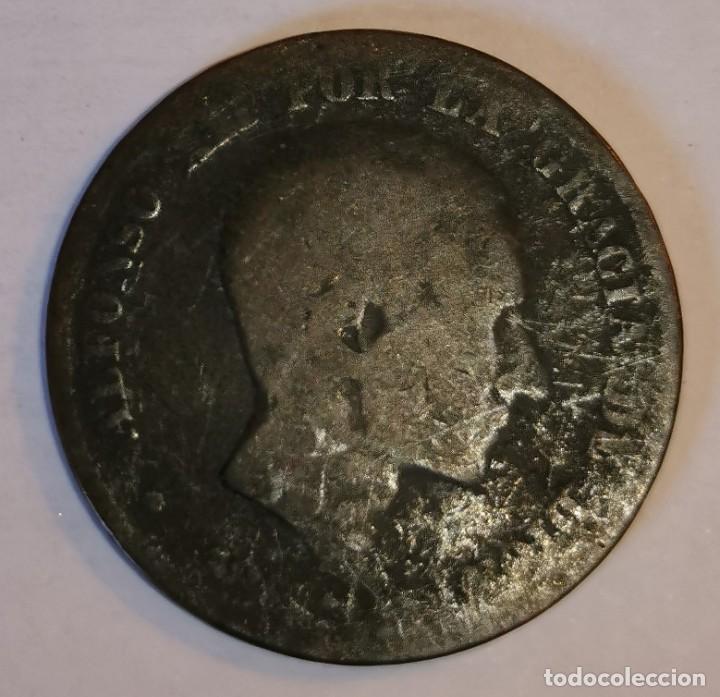 MONEDA DE 10 CENTIMOS ALFONSO XII- (Numismática - España Modernas y Contemporáneas - De Isabel II (1.834) a Alfonso XIII (1.931))