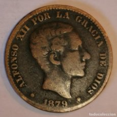 Monedas de España: MONEDA DE 10 CENTIMOS ALFONSO XII-1879. Lote 219103860